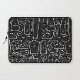 Sewing the Stars! Black Laptop Sleeve