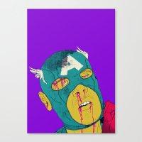 boneface Canvas Prints featuring Soc! by boneface
