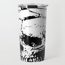 The Skull of Phineas Gage Vintage Illustration Travel Mug