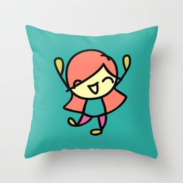 Silly Sally Throw Pillow