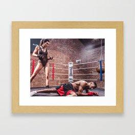 It's a Knockout Framed Art Print
