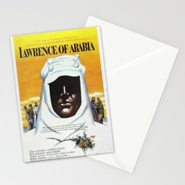 Vintage 1962 Lawrence of Arabia Movie Lobby Poster Stationery Cards