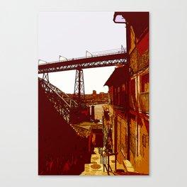 escada dos guindais Canvas Print