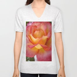 Dew Drop Fire Rose, 2012 Unisex V-Neck