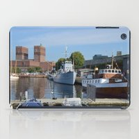 oslo iPad Cases featuring Minesweeper Alta In Oslo by Malcolm Snook