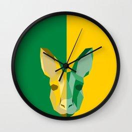 Kangaroo for Australia Wall Clock