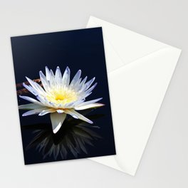 White Water Lily- horizontal Stationery Cards