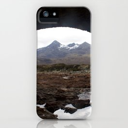 Mountains Lewis and Harris 2 iPhone Case