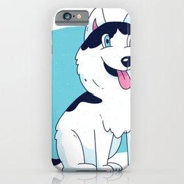 Husky puppy dog iPhone Case