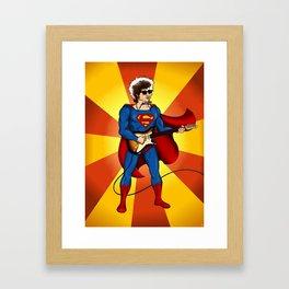 SuperBob Framed Art Print