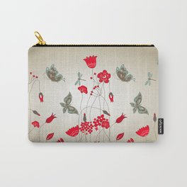Tatemae Japanese Ochre Carry-All Pouch