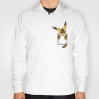 nausicaa Hoodies featuring Pocket Teto (Fox Squirrel) by Li.Ro.Vi