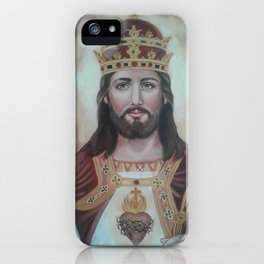 Christ The King iPhone Case