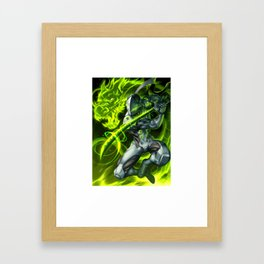 genji Framed Art Print