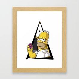 Homerr Framed Art Print