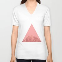 triangle V-neck T-shirts featuring Triangle by Jackson Todd