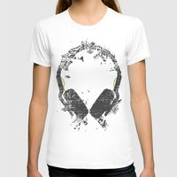 carnage T-shirts featuring Art Headphones V2 by Sitchko Igor