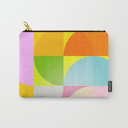 mid century modern geometry Carry-All Pouch