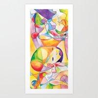 divergent Art Prints featuring Divergent Threads, Lucent Memories by Serapenta Studio – HBGC
