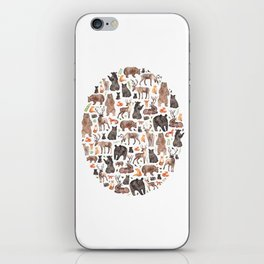 Woodland or Forest Animals! iPhone Skin