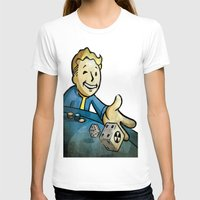 fallout T-shirts featuring fallout character by stavastator