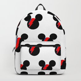 David Bowie Mouse Backpack