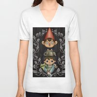over the garden wall V-neck T-shirts featuring Over the Garden Wall. by toibi