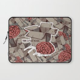 Think Outside The Box Color Laptop Sleeve