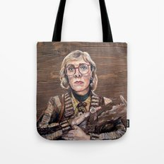 Log Lady / Twin Peaks Tote Bag