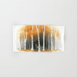 Autumn Wolf Hand & Bath Towel