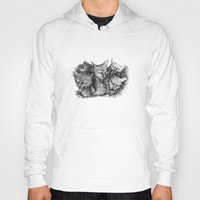 cats Hoodies featuring Cats by Andreas Derebucha