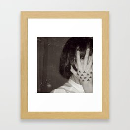 The Impermanent Triangle Framed Art Print
