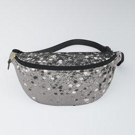 Silver Gray Glitter #1 #shiny #decor #art #society6 Fanny Pack