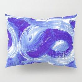 Abstract Paint Print Pillow Sham