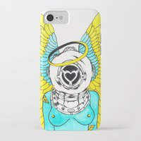 halo iPhone & iPod Cases featuring Halo by Paul Trujillo