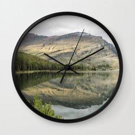 Where the Bears Roam - Many Glacier - Glacier NP Wall Clock