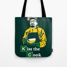 Kiss the Cook Tote Bag