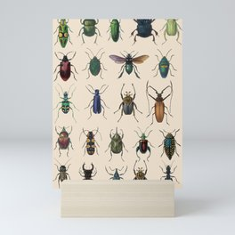 Insects, flies, ants, bugs Mini Art Print
