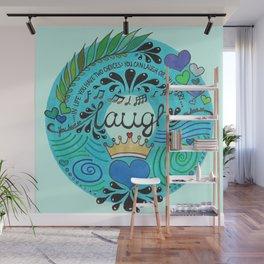 Laugh Wall Mural
