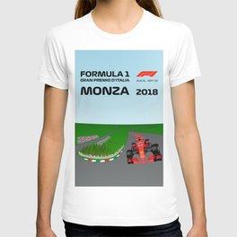 Formula 1 Monza GP Poster 2018 T-shirt