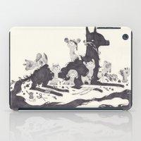 et iPad Cases featuring Le Loup et les Sept Chevreaux by yohan sacre