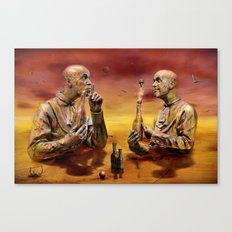 Hochstimmung Canvas Print