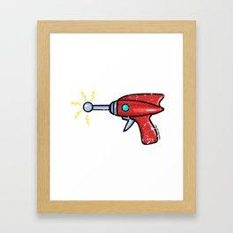 Ray Gun Framed Art Print