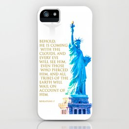 Hold On America iPhone Case