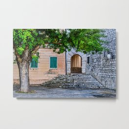 Sibenik, Croatia Metal Print