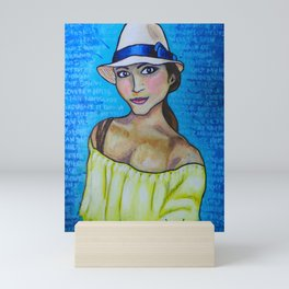 Yellow T Mini Art Print