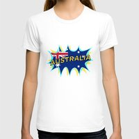 australia T-shirts featuring Australia by mailboxdisco