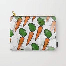 Carrot Popart by NIco Bielow Carry-All Pouch