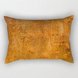 Abstract Rust Wall Rectangular Pillow