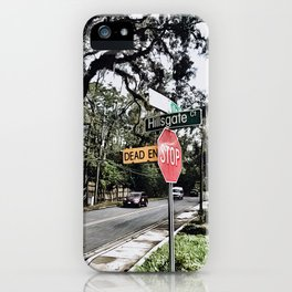 Florida Streets iPhone Case